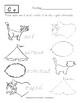 D'nealian Handwriting Practice: Tracing and Matching