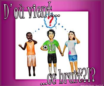 """D'où vient ce bruit? - French CI - TPRS - the preposition """"de"""""""