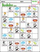 Articulation Activity for Speech Therapy (D sound): Picture Sudoku Game