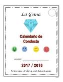 D1 Calendario de Conducta 2017-2018