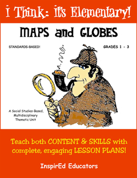D1106 Maps and Globes (grades 1-3) COMPLETE EBOOK UNIT