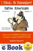 D1301 Native Americans COMMON CORE eBOOK UNIT!