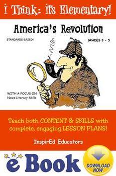 D1304 America's Revolution COMPLETE eBOOK UNIT!
