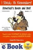 D1310  America's Boom and Bust COMPLETE eBOOK UNIT!