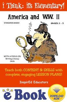 D1311  America and WWII COMPLETE eBOOK UNIT!
