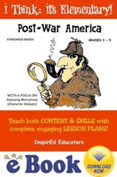 D1312 Post War America COMPLETE eBOOK UNIT!