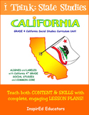 D1607 California State Studies - Complete 4th grade ebook unit!