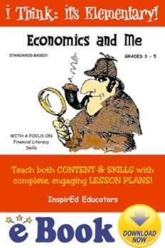 D1801 Economics and Me COMPLETE eBOOK UNIT!