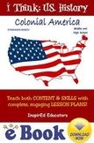 D3101 Colonial America - COMPLETE eBOOK UNIT