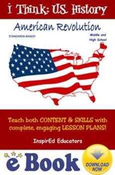 D3102 American Revolution COMPLETE eBOOK UNIT!