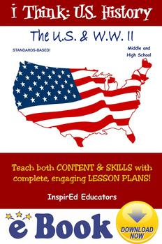 D3110 The U.S. & World War II COMPLETE eBOOK UNIT!
