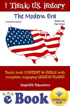 D3112 U.S. History The Modern Era COMPLETE eBOOK UNIT!
