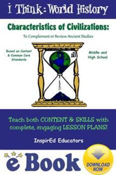 D4201 Characteristics of Civilizations COMPLETE EBOOK UNIT!