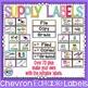 Classroom Decor Bundle Chevron Theme