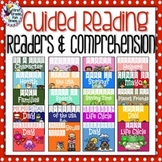 Guided Reading Printable Readers with Comprehension Bundle