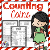 Money Math and Counting Coins Now Includes Spanish Version #FallFabulous2019