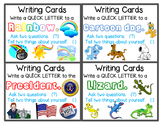 Writing Prompts - Writing Cards - Sets 8 & 9