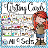Writing Prompts Task Cards Bundle Back to School Activities