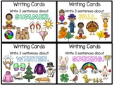 Writing Task Card Writing Prompts