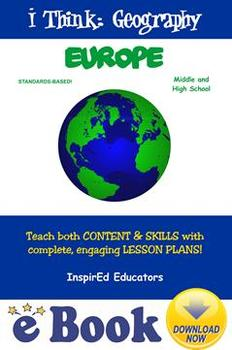 D5105 Europe (Geography and World Cultures) COMPLETE EBOOK UNIT