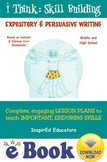 D6303 Expository and Persuasive Writing - COMPLETE eBOOK UNIT