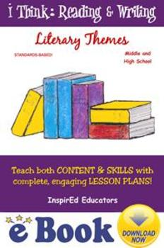 D7103 Literary Themes COMPLETE eBOOK UNIT!