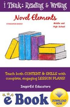 D7105 Novel Elements - COMPLETE eBOOK UNIT!