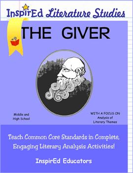 D7207 - The Giver Complete Ebook Literature Unit