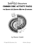 D7304 Common Core Activity Pack (Anchor Writing 6-12)