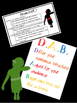 DAB Editing Posters and Checklist