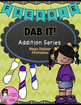 DAB IT! Addition Series {FREEBIE}