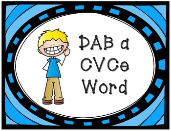DAB a CVCe Word - 5 Center Activities!