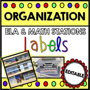 DAILY 5 & MATH Labels