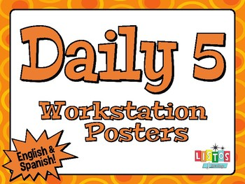 DAILY 5 Posters - English & Spanish!