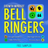 DAILY BELL RINGERS FREEBIE: Growth Mindset Writing Prompts