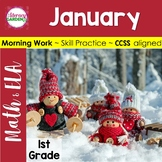 MORNING WORK {Daily Common Core & More} - JANUARY ~1st Grade