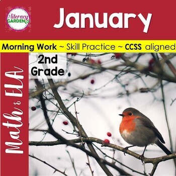 MORNING WORK {Daily Common Core & More} - JANUARY ~ 2nd Grade
