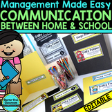 DAILY COMMUNICATION FOLDERS for PARENT COMMUNICATION & CLASSROOM MANAGEMENT