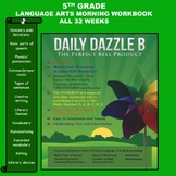 MORNING WORK - LANGUAGE ARTS - DD B BOOK - 5rd Grade - 1 f