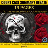 CRITICAL THINKING ACTIVITIES: DILEMMA ONE SHEET (#1) Informational text