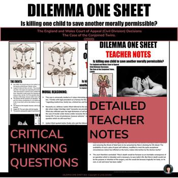 DAILY DILEMMA ONE SHEET (#2) (My University Prep)
