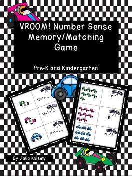 DAILY FREEBIE Vroom! Matching/Memory Game