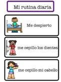 DAILY ROUTINE VISUAL SCHEDULE: SPANISH