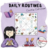 DAILY ROUTINES - FEELINGS COOTIE CATCHER