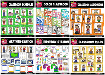 Classroom (6) Poster Sets