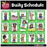 DAILY SCHEDULE POSTERS