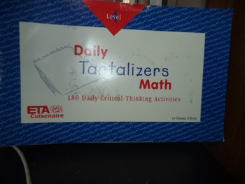 DAILY TANTALIZERS MATH   ISBN0-7406-0100-8