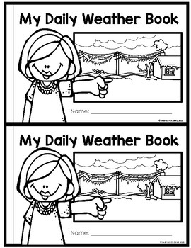 DAILY WEATHER BOOK