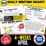 4th Grade Daily Language Review for April New ELA TEKS