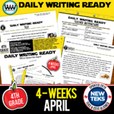 DAILY WRITING READY for April ~ 4th Grade Daily Language R